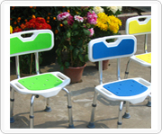 Aluminum bathing chair